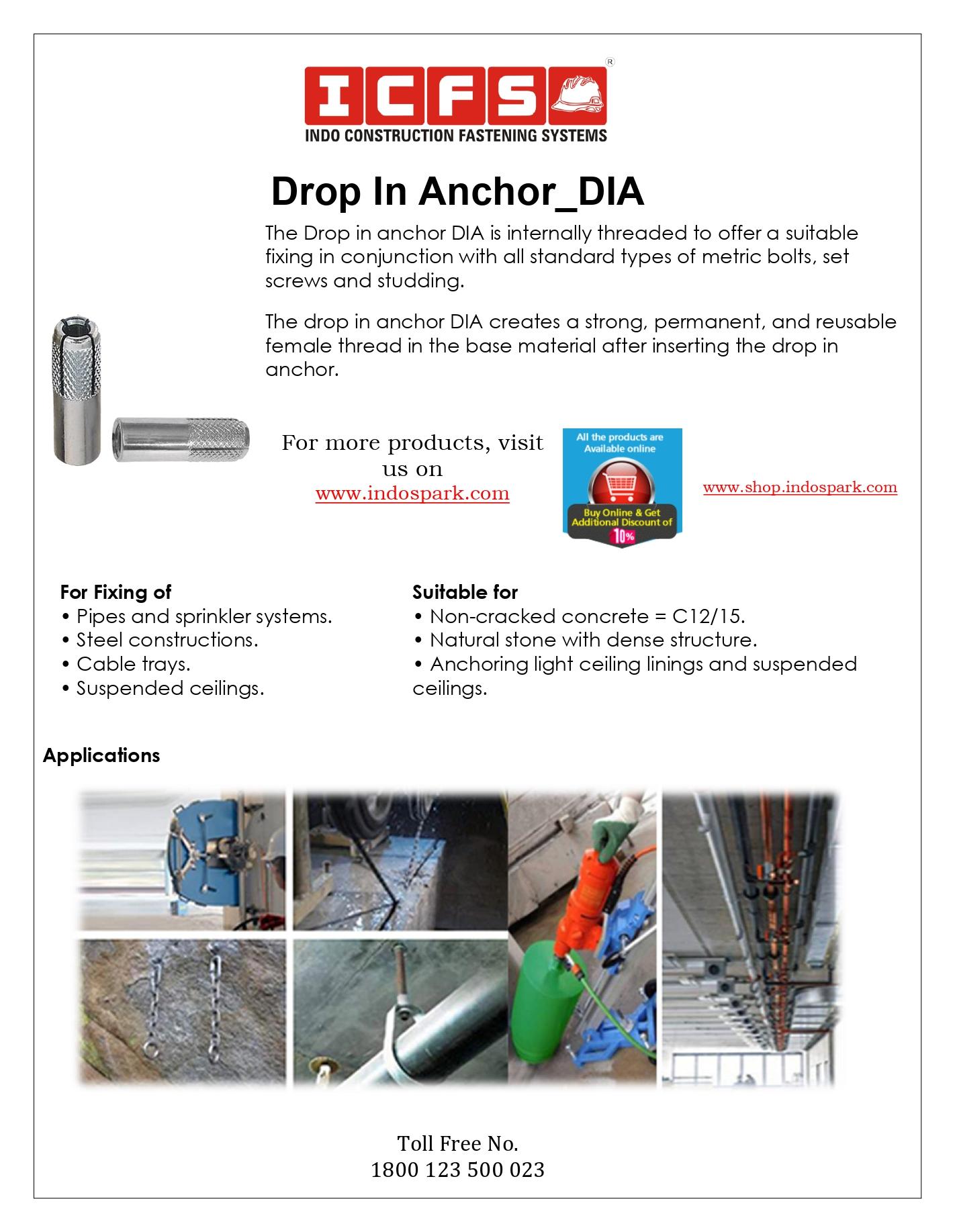 Drop In Anchor_DIA
