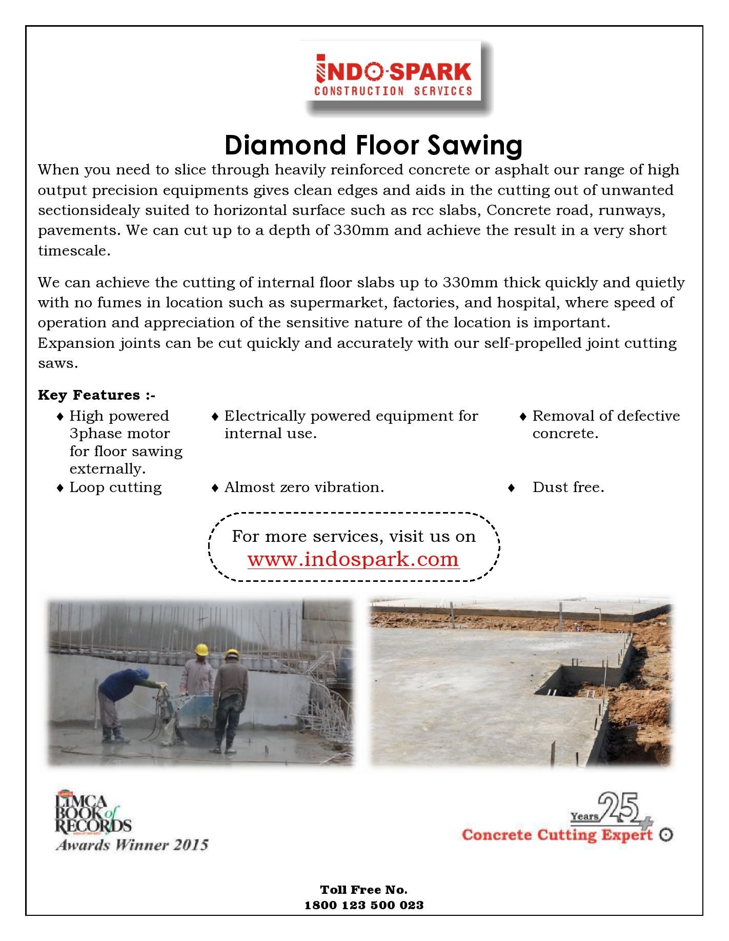 Diamond Floor Sawing