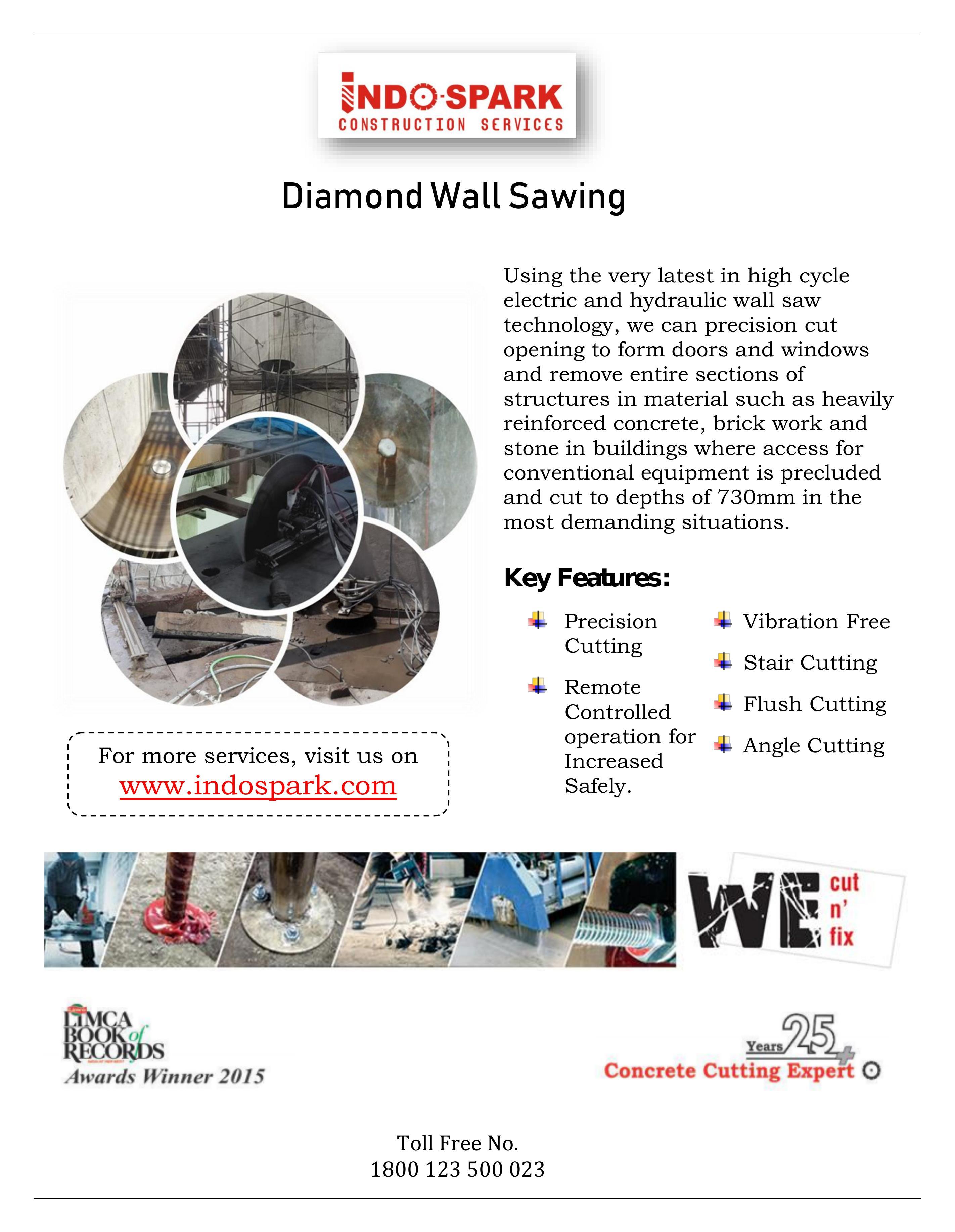 Diamond Wall Sawing