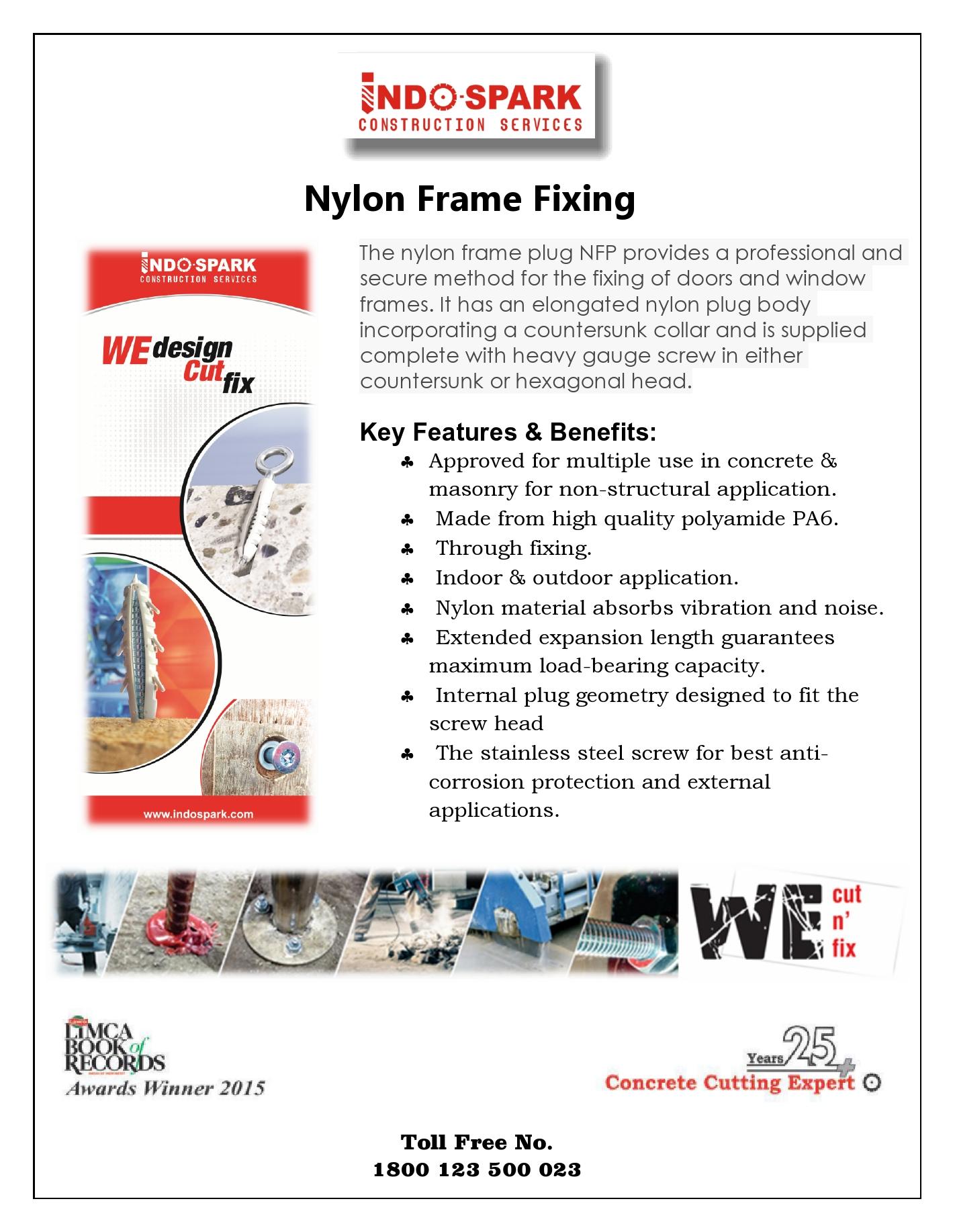 Nylon Frame Fixing